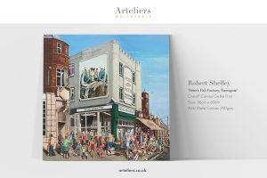 Bob Shelley - Peter's Fish Factory - Canvas