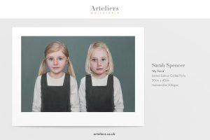 Sarah Spencer - My Twins - Giclée print