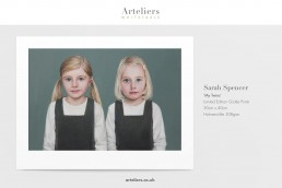 Sarah Spencer - My Twins - Giclée print