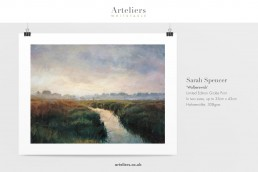 Sarah Spencer - Walberswick - Giclée print