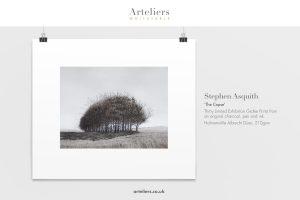 Stephen Asquith - Copse - Giclée print