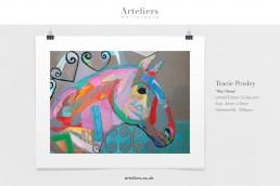 Tracie Peisley - War Horse - Giclée print