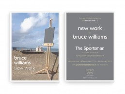 Marketing - Private View Invitation - Bruce Williams