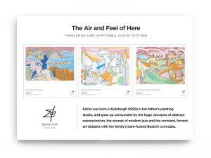 Marketing - Exhibition promo - Selina Firth
