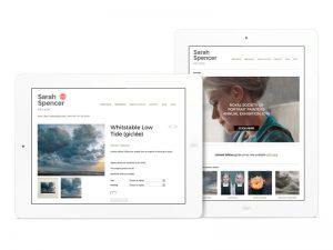 Website design and build - Sarah Spencer