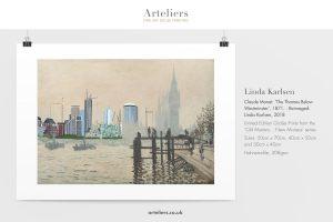 Monet reimaged by Linda Karlsen