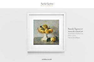 Sarah Spencer VPNEAC - Lemons On A Raised Dish