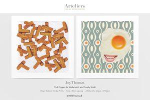 Joy Thomas - FishFingers for Modernists & Nice Smile